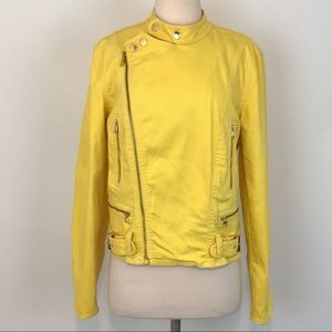 Ralph Lauren Co. Yellow Motto Jean Jacket